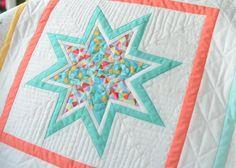 Hyacinth Quilt Designs: Lone Starburst finish...