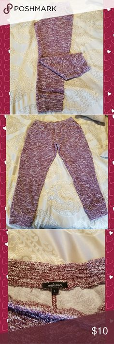 Women's Joggers Red, French terry joggers. With pockets. Gently worn, good condition. Ambiance Pants Track Pants & Joggers