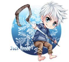 Jack Frost - Chibi Sig by SpYrO100.deviantart.com on @deviantART