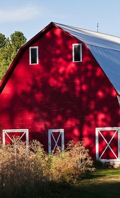 Gorgeous red barn