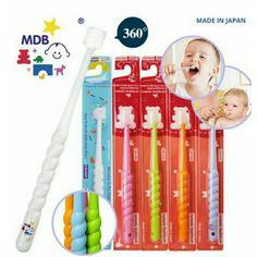 Mdb 360degree toothbrush for baby 1sr 7pcs (putih 3pcs + warna 4pcs ) x @49