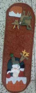 camino mesa santa en chimenea 180 bs
