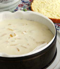 Ce servim astăzi cu ceai? Prăjitură cu cremă de brânză și piersici— un desert pufos, aromat, extraordinar, pe care-l va putea pregăti chiar și un bucătar începător! INGREDIENTE: Pentru pandișpan: -5 linguri de făină; -5 ouă; -5 linguri de zahăr. Pentru cremă: -300 g de brânză dulce de vaci; -o conservă de piersici; -20 g de gelatină; -10-11 linguri de apă; -5 linguri de zahăr pudră; -250 ml de smântână pentru frișcă. MOD DE PREPARARE: 1.Pregătiți aluatul: bateți albușurile și zahărul până la... Cheeseburger Chowder, Dairy, Pudding, Ethnic Recipes, Desserts, Sweets, Bakken, Tailgate Desserts, Deserts