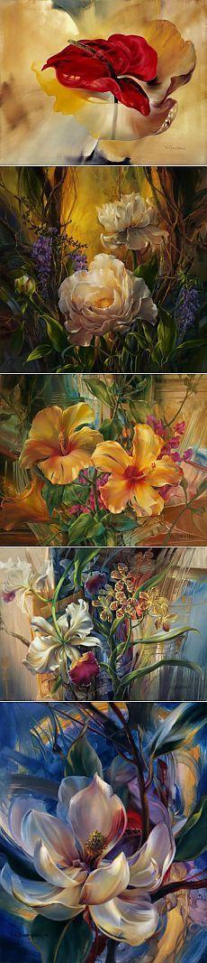 Ну очень красивая живопись Vie Dunn-Harr.