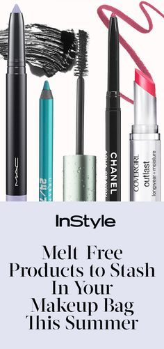 Sweat-Proof Essentials You'll Want to Stash in Your Makeup Bag This Summer from InStyle.com