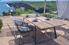 Tecno Outdoor Teak Table 240 x 100 Outdoor Tables, Outdoor Decor, Teak Table, Tecno, Outdoor Furniture Sets, Industrial, Age, Auckland, Home Decor