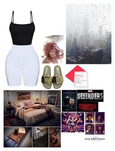 """FU."" by chyannea ❤ liked on Polyvore featuring Puma, Los Angeles Trading Company, Duffer, fashionset and polyPresents"