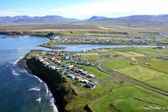 The Blönduós town of Iceland is home to the greatest glacial river of Iceland, Blanda that takes path along its banks towards the mouth of river and offers a romantic walk with amazing views of the ocean!