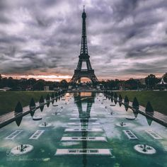 Postcard from Paris. by pangeaproductions #landscape #travel