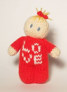little love bitsy baby knitting pattern valentines knitted gift x