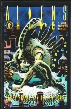 Aliens  Hive #1 Kelley Jones art Dark Horse Comics 1992 VF or better NICE