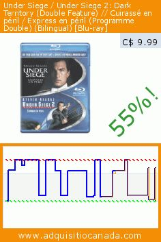 Under Siege / Under Siege 2: Dark Territory (Double Feature) // Cuirassé en péril / Express en péril (Programme Double) (Bilingual) [Blu-ray] (Blu-ray). Drop 55%! Current price C$ 9.99, the previous price was C$ 22.04. http://www.adquisitiocanada.com/warner/under-siege-12-blu-ray
