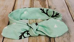 How to Make Knot-Bow Headbands for Babies by coralandco