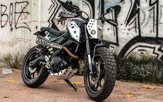 """""""Naked bike không đối thủ"""" Yamaha TFX 150 độ scrambler độc tại Sài Gòn"""