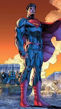Superman New 52 I don't post enough superman.Rebirth: Superman by Jim Lee, colours by Alex Sinclair * ®. Marvel Comics, Arte Dc Comics, Hq Marvel, Captain Marvel, Superman News, Batman Vs Superman, Jim Lee Superman, Superman Family, Comic Books Art