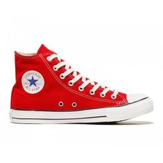 innovative design 6e4a3 18818 Theyre fire engine red for a reason - because theyre freakin hot. Step  out in a pair of Chucks from the Converse core range. These beautes are  high, ...