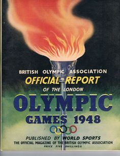 Official Report Magazine Of The London Olympic Games 1948