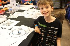 Ozobot  - wonderful, affordable robot that reads directional commands. All you need are markers and paper. Thank you Robotics Revolution for introducing this fun toy to us!