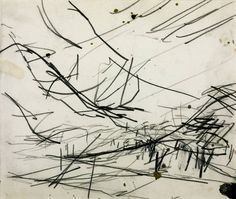 Working Drawing for 'Primrose Hill'' ,1968, Frank Helmut Auerbach