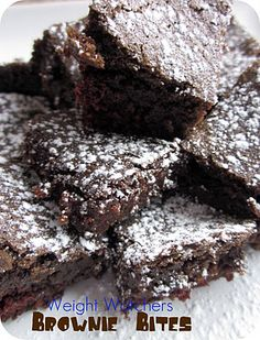 Weight Watchers Brownie Bites Recipe on MyRecipeMagic.com