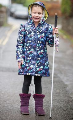 Blind girl, seven, banned from using white stick at school as it is 'health and safety risk'