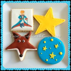El principito Cookies Galletas decoradas