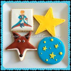 El principito Cookies Galletas decoradas