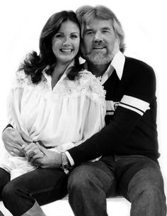 Lynda Carter and Kenny Rogers
