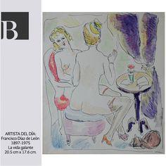 """El Museo D'Orsay (@museedorsay) de París tiene la exposición """"Imágenes de la prostitución, 1850-1910"""" y el Museo Colección Blaisten con ánimo colaborativo, sintonizará las publicaciones de esta semana con la temática de la exposición. En los siguientes días publicaremos obras de artistas mexicanos que se han inspirado en las damas de la vida galante para crear sus obras."""