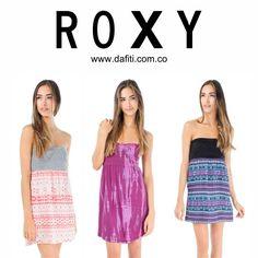 Disfruta más de tus días con nuestros vestidos, ahora disponibles en nuestra tienda virtual www.dafiti.com/roxy  Roxy Colombia #Chicas #VestidosROXY #Spring