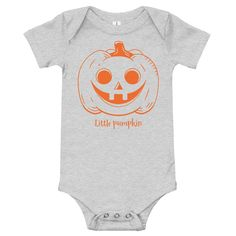 MiD Shop Little Pumpkin, Onesies, Baby, Kids, Clothes, Shopping, Fashion, Young Children, Outfits