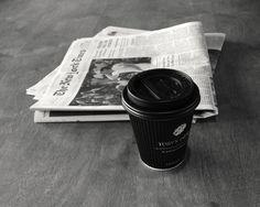australian coffee, new york newspaper + morning light