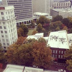 Woodruff Park, as seen from the Healey. Photo by totesfawkward