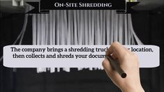 In the company brings a truck to your location, then collects and shreds your documents immediately before leaving your location. Document Shredding, Bring It On, Eyes, Book, Livres, Books, Human Eye, Libros, Blurb Book