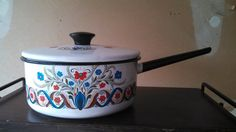 Beautiful Vintage Berggren Trayner Sauce Pan by CollectorsAgency, $19.95