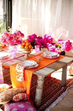 Spring Table Decorations diy: 53 amazing ideas of spring table decoration | table decorations