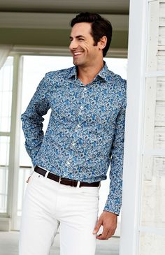 Our tailored fit plus a Liberty of London print - what's not to love? Style, comfort and a great value await - see more styles at Lands' End.