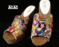 Your place to buy and sell all things handmade Archie Comics Betty, Archie Betty And Veronica, Archie Comic Books, Peep Toe Wedges, Buy And Sell, Amazing, Handmade, Stuff To Buy, Shoes