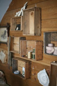 Obsessed with old beaten-up wooden boxes for some reason. Forestbound.