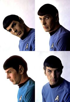Who says Spock has no emotion?