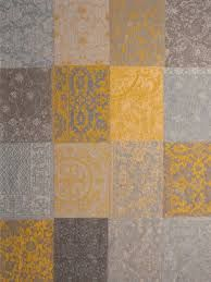 Louis de Poortere Teppich Vintage in Gelb