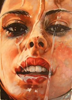 Amazing work by the French artist Thomas Saliot who is currently living between Marrakech and Paris. He has been painting and travellin. Thomas Saliot, Beaux Arts Paris, Art Thomas, A Level Art, Wow Art, Face Art, Portrait Art, Erotic Art, Art Inspo