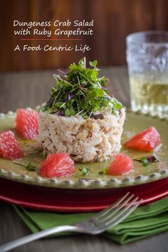 Dungeness crab salad made with sweet, delicate crab makes a wonderful seafood salad or a light meal. Its healthy, simple and takes just minutes to prepare