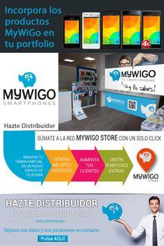 Gana dinero con la venta de productos MyWiGo en tu establecimiento. ¡Hazte distribuidor oficial!