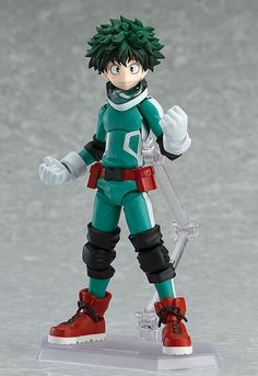 """Win and surpass you, you idiot!"""" From the popular anime series 'My Hero Academia' comes a figma of the main character, Izuku Midoriya! Using the smooth yet posable joints of figma, you can act out a variety of different sce. My Hero Academia, Hero Academia Characters, Anime W, Anime Japan, Anime Toys, Figurine Anime, Mode Shop, Popular Anime, Good Smile"""