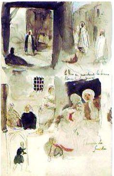 Delacroix - Tours Sketchbook