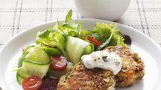 Lentil patties – Dietitians Association of Australia Veggie Recipes, Vegetarian Recipes, Lentil Patty, Plant Based Eating, Main Meals, Lentils, Superfood, Veggies, Food And Drink