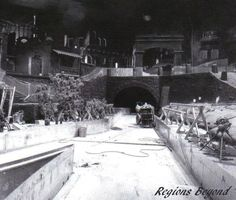 Constructing Pirates of the Caribbean. If you have time read up on the history of this ride, you may find a new found appreciation for it.