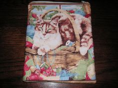 Cat kitten kitty cats handmade zipper by alwaysamazingdesigns, $14.99