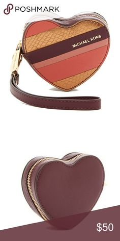 Michael Kors Heart Coin Purse Wristlet Michael Kors Heart Coin Purse Wristlet. Never worn and new with tags. Price is firm unless bundled. Bags Clutches & Wristlets #Wristlets